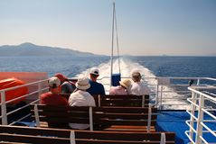 Catamaran, Griekenland Stock Foto