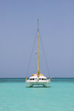 Catamaran In Saona Beach Royalty Free Stock Image