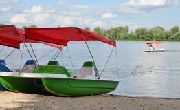 Catamaran jazda obraz royalty free