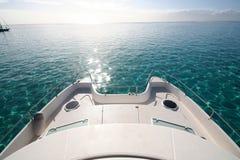 Catamaran on the lagoon Royalty Free Stock Photo
