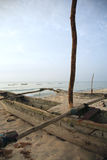 catamaran na plaży Obrazy Stock