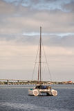 Catamaran near St Augustine Stock Image