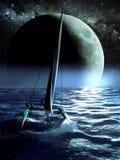 Catamaran nocy rasa Obrazy Stock