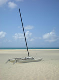 Catamaran On The Beach Royalty Free Stock Images
