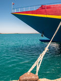 Catamaran Passenger Ferry in Heraklion Port Stock Photos