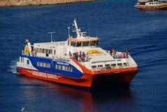 Catamaran prom, Halka fotografia stock