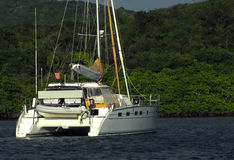 Catamaran sailboat Royalty Free Stock Photos