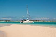Catamaran Sailboat Stock Images