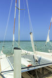 Catamaran sailboat Stock Photography