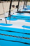 Catamaran sailboats Stock Photography