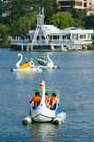 Catamaran sailing, Dalat, in Vietnam Royalty Free Stock Image