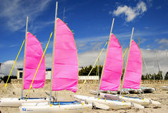 Catamarans, Brittany, France Royalty Free Stock Image