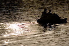 catamaran spokojna woda Fotografia Stock