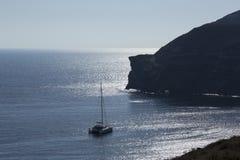 Catamaran Sunset Cruise Stock Photo