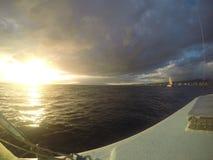 Catamaran widoki fotografia stock