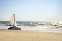 Catamaran yacht Stock Images