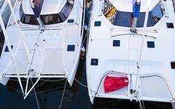 Catamarani Fotografie Stock Libere da Diritti