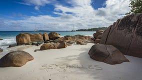 Catamarani a anse Lazio sulle Seychelles 64 Immagini Stock Libere da Diritti