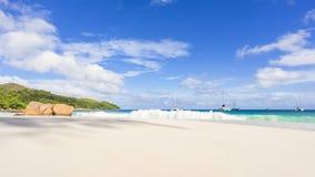 Catamarani a anse Lazio sulle Seychelles 41 Fotografia Stock Libera da Diritti