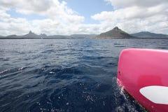 Catamaraning in Isola Maurizio Fotografie Stock Libere da Diritti