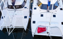 catamarans Royaltyfria Foton