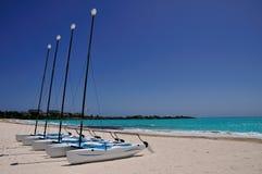 Catamarans Royalty Free Stock Photo