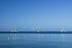 Catamarans Photographie stock