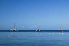 catamarans Fotografia Stock