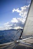 Catamarans bow Royalty Free Stock Photos