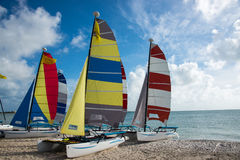 Catamarans Stock Image