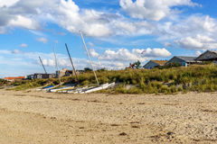 Catamarans on the dunes. Stock Photos