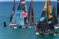 Extreme Sailing Series, Barcelona Stock Images