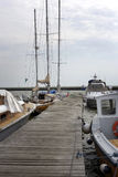 Catamarans and yachts Royalty Free Stock Images