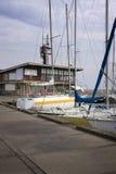 Catamarans and yachts Stock Image