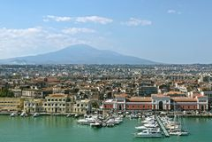 Catanië, Sicilië Italië Royalty-vrije Stock Afbeelding