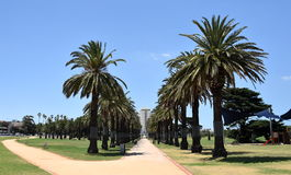 Catani Gardens in St Kilda, Melbourne Royalty Free Stock Images