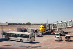 Catania Airport Royalty Free Stock Images