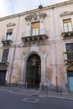 Catania arhitecture Zdjęcia Stock