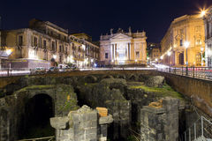 Catania arhitecture Stock Image