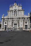 Catania, Cathedral Royalty Free Stock Photography