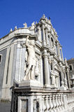 Catania cathedral  Royalty Free Stock Photo