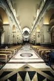 Catania Cathedral, Sicily. Italy Interior church Royalty Free Stock Photo