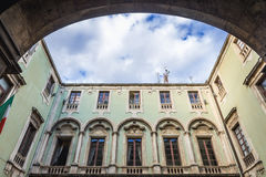 Catania city hall Stock Image