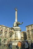 Catania city, Italy. Royalty Free Stock Photo