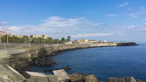 Catania dock Stock Images
