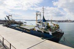 Catania dock Stock Image