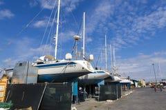 Catania dock Royalty Free Stock Photography