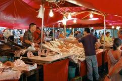 catania fishmarket Royaltyfri Bild
