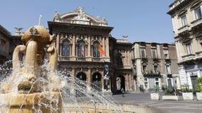 Catania, Fontana dell ` Amenano zdjęcie wideo