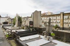 Catania graveyard Stock Photos